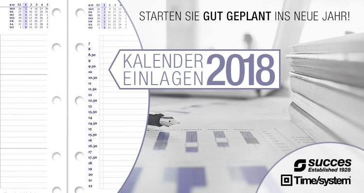Succes Kalendereinlagen