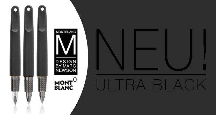 Montblanc M Ultra Black Kugelschreiber